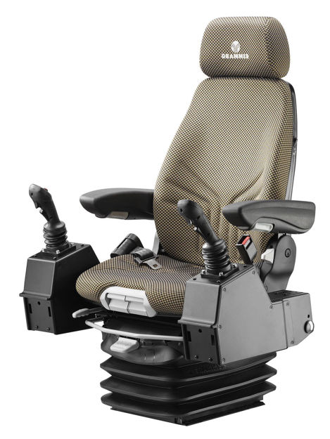 Picture of Actimo XL Seat w/ Control Pods - MSG95A/722